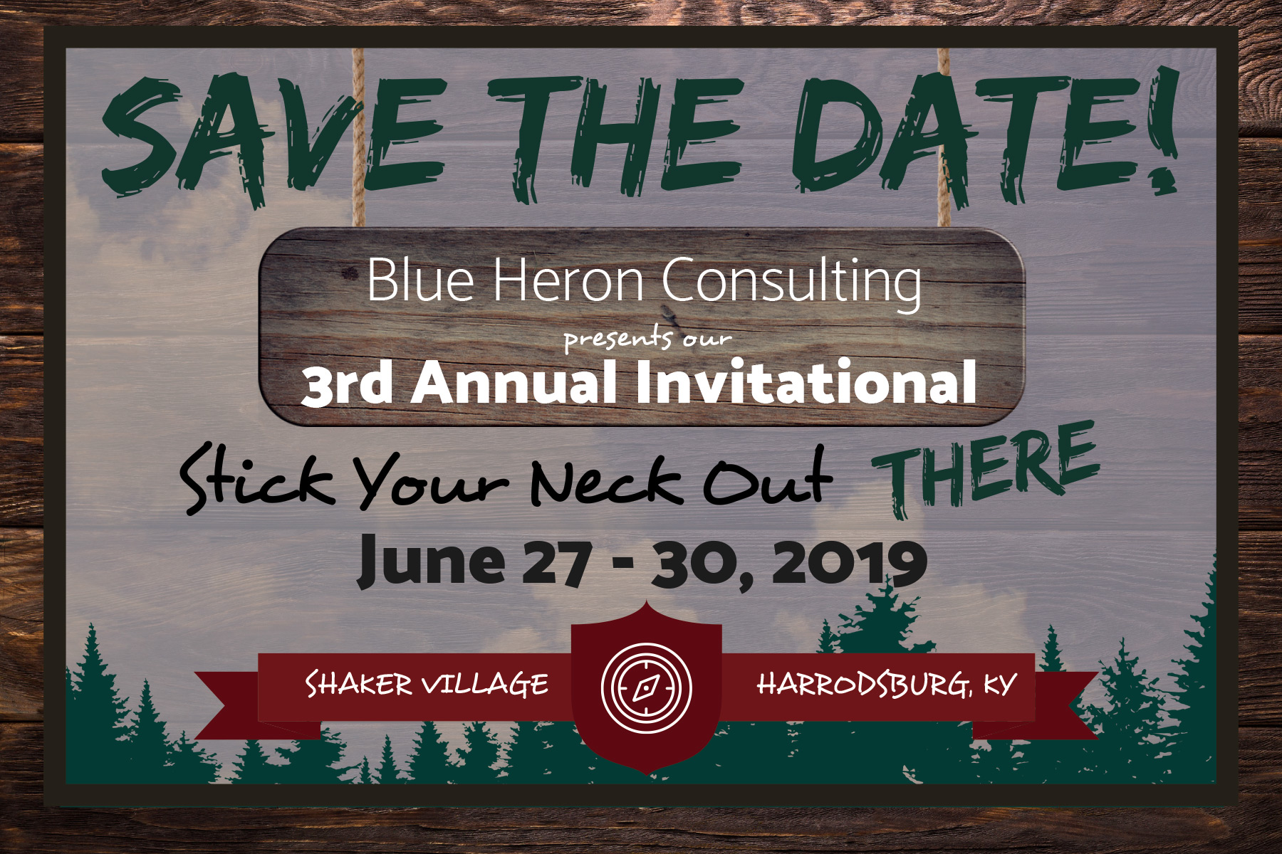 Save the Date! BHC presents 3rd Annual Invitational