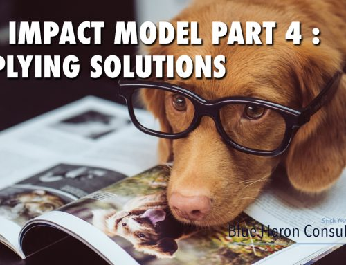 The IMPACT Model Part 4 : Applying Solutions