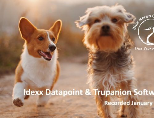 Idexx Datapoint and Trupanion Software